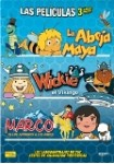 Pack Marco + La Abeja Maya + Wickie El Vikingo