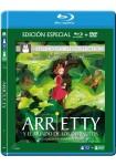 Arrietty Y El Mundo De Los Diminutos (Blu-Ray + DVD)
