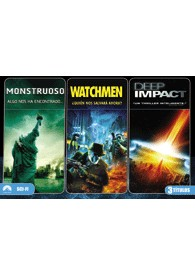 Monstruoso + Watchmen + Deep Impact (Ed. Horizontal)