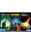 Monstruoso + Watchmen + Deep Impact (Ed. Horizontal)