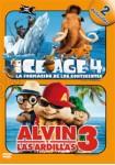 Ice Age 4 + Alvin Y Las Ardillas 3
