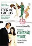 Flor De Cactus + Corazón Verde