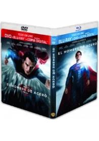 El Hombre De Acero (Blu-Ray + Dvd + Copia Digital)