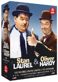 Pack Stan Laurel & Oliver Hardy - Sus Mejores Cortos Juntos Y Por Separado