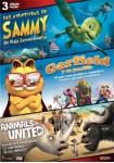 Pack Las Aventuras De Sammy + Gardfield Y Su Pandilla + Animals United
