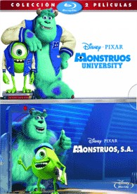 Monstruos University + Monstruos, S.A. (Blu-Ray)