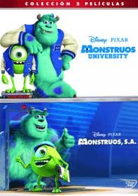 Pack Monstruos University + Monstruos, S.A.