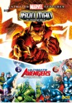 Pack Iron Man, El Invencible + Ultimate Avengers 1 + Ultimate Avengers 2