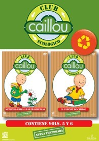 Pack Caillou Club Ecológico Vol. 5 y 6