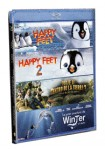 Happy Feet + Happy Feet 2 + Viaje Al Centro De La Tierra 2 + La Gran Aventura De Winter (Blu-Ray)