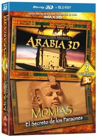 Arabia + Momias : El Secreto De Los Faraones (Blu-Ray 3d + Blu-Ray)