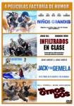 Pack Niños Grandes + Infiltrados En Clase + Jack Y Su Gemela + Los Otros Dos