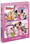 Pack La Casa De Mickey Mouse (Minnie El Baile De Disfraces + Minnie Peluquería Mascotas)