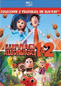 Lluvia De Albóndigas 1 + 2 (Blu-Ray)