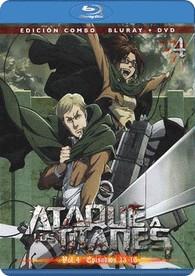 Ataque A Los Titanes - Vol. 4 (Blu-Ray + Dvd)
