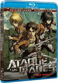 Ataque A Los Titanes - Vol. 5 (Blu-Ray + Dvd)