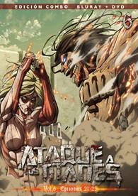Ataque A Los Titanes - Vol. 6 (Blu-Ray + Dvd)