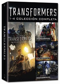 Pack Transformers - Transformers 1-4