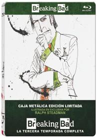 Breaking Bad - 3ª Temporada (Ed. Metálica) (Blu-Ray)