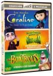 Pack Estudio Laika: Coraline + ParaNorman + Boxtrolls