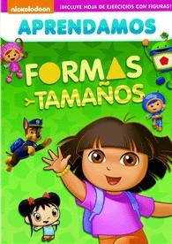 Nickelodeon : Aprendamos Formas Y Tamaños
