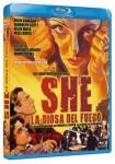 She, La Diosa Del Fuego (Blu-Ray)