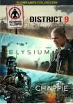 Chappie + Elysium + District 9