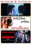 Pack: Demolition Man + Asesinos + El Especialista