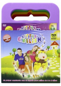 Pack Little English (4 DVD,s)