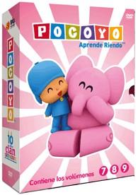 Pack Pocoyo : Aprende Riendo (Vol. 7-9)