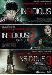 Pack Insidious 1 + 2 + 3