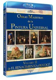 Obras Maestras De La Pintura Universal - Vol. 2 de El Renacimiento al Rococó (Blu-Ray)