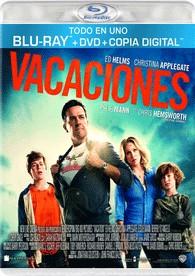 Vacaciones (Blu-Ray + Dvd + Copia Digital)