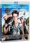 Pan: Viaje A Nunca Jamás (Blu-Ray + Dvd + Copia Digital)
