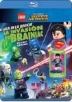 Lego : La Liga De La Justicia - La Invasión De Brainiac (Blu-Ray)