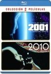 2001 : Una Odisea del Espacio + 2010 : Odisea 2 (Blu-Ray)