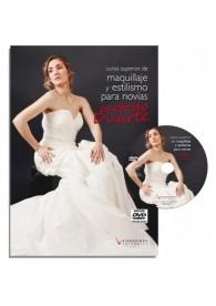 Curso superior de maquillaje y estilismo para novias, método Victoria Duarte (Libro+DVD)
