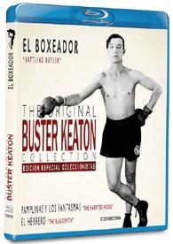 El Boxeador - Battling Butter + Pamplinas y los Fantasmas The Haunted House + El Herrero The Black Smith (Blu-Ray)