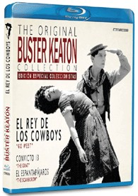 El Rey De Los Cowboys - The Original Buster Keaton Collection (Blu-Ray)
