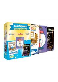 Pack Mejores Series Infantiles: Detective Pocoyo + Caillou Primera Boda + Oveja Shaun 3
