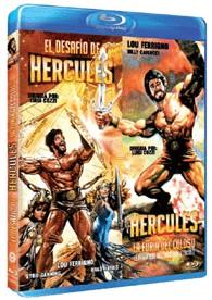El Desafío De Hércules + Hércules, La Furia Del Coloso (Blu-Ray)