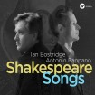 Shakespeare Songs (Lan Bostridge , Antonio Pappano) CD