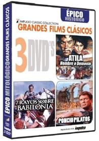 Pack Atila + Poncio Pilatos + 7 Rayos Sobre Babilonia (Resen)