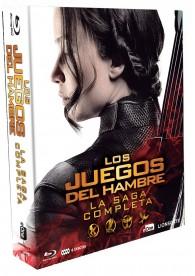 Los Juegos Del Hambre - Saga Completa (2016) (Blu-Ray)