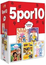 5 Por 10 : Pocoyo + Caillou + Heidi + Timmy + Osos