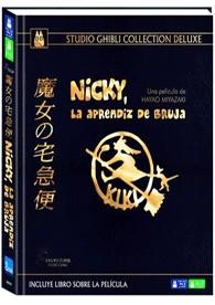 Nicky : La Aprendiz De Bruja (Blu-Ray + DVD + Libro) (Ed. Coleccionista)