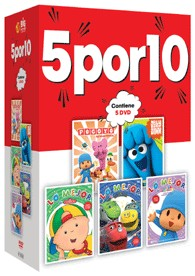 5 Por 10 : Let´S Go + Caillou + Chuggington + Pocoyo + Jelly