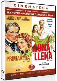 Doble Sesión Jeanette MacDonald & Nelson Eddy: Primavera + Luna Llena (V.O.S.)