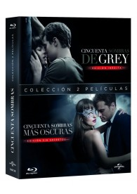 Pack Cincuenta Sombras De Grey + Cincuenta Sombras Mas Oscuras (Blu-Ray)