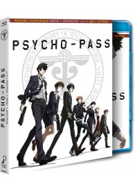 Psycho Pass : 1ª Temporada - 1ª Parte (Blu-Ray)